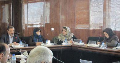 پنجمین نشست کمیته ملی آبشناسی با حضور خانم بلانکا خیمنز سیسنروس، رئیس بخش آب یونسکو و دبیر برنامه بین المللی آبشناسی (IHP) در تاریخ ۱۵ آذر۱۳۹۵  از ساعت ۸:۳۰ تا ۱۰، در وزارت نیرو برگزار گردید