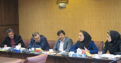 پنجمین جلسه از دوره جدید کمیته ملی ورزش و تربیت بدنی در دانشکده تربیت بدنی و ورزش دانشگاه تهران برگزار گردید