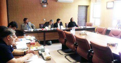 ششمین جلسه از دوره جدید کمیته ملی ورزش و تربیت بدنی برگزار شد