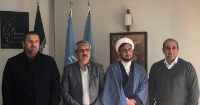 دبیرکل کمیسیون ملی یونسکو- ایران با معاونان دانشگاه مذاهب اسلامی، دیدار و گفتوگو کرد