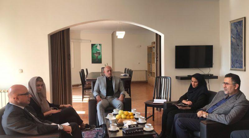 دبیرکل کمیسیون ملی یونسکو در ایران با سفیر یونان، دیدار و گفتوگو کرد