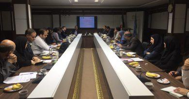 چهارمین نشست از دوره هفدهم کمیته ملی اقیانوس شناسی برگزار شد