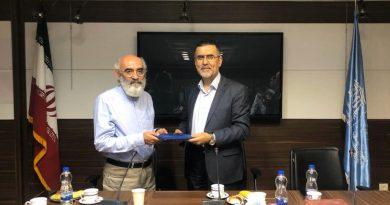 مراسم معارفه دکتر شکرخواه در کمیسیون ملی یونسکو برگزار شد
