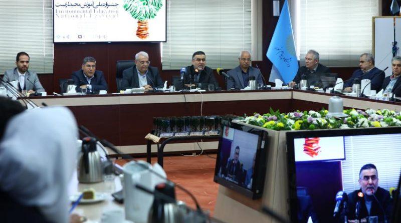 رونمایی نماد ملی آموزش محیط زیست؛ دبیرکل کمیسیون ملی یونسکو-ایران: توجه به مسئله محیط زیست کم خرج اما اثرگذار است