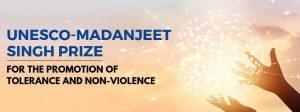 """فراخوان جایزه """"مادانجیت سینگ"""" یونسکو برای ترویج بردباری و نفی خشونت در سال ۲۰۲۰"""