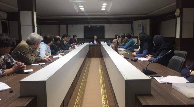 اولین نشست دوره هفدهم کمیته ملی اقیانوس شناسی برگزار شد