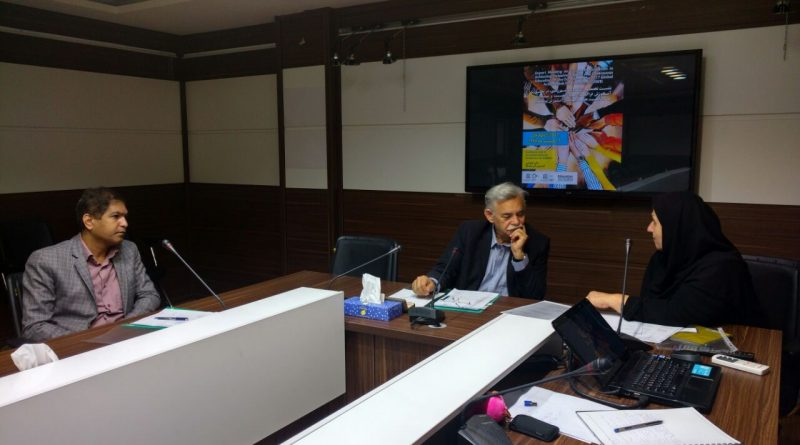 ملاقات دبیر کمیته ملی انسان و کره مسکون با رئیس این کمیته در کمیسیون ملی یونسکو- ایران