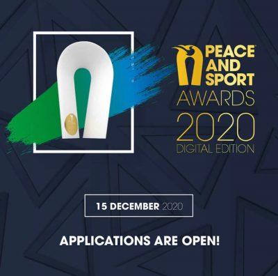 فراخوان جایزه صلح و ورزش ۲۰۲۰